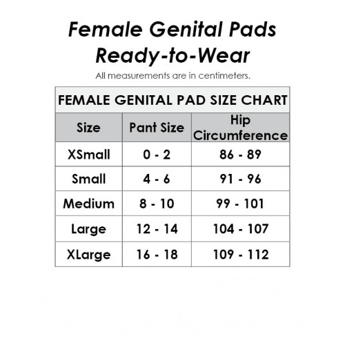 Female Genital Pad (without Straps)