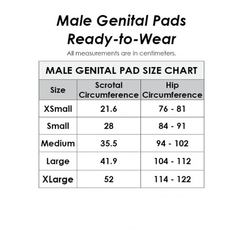 Male Genital Pad (without Straps)